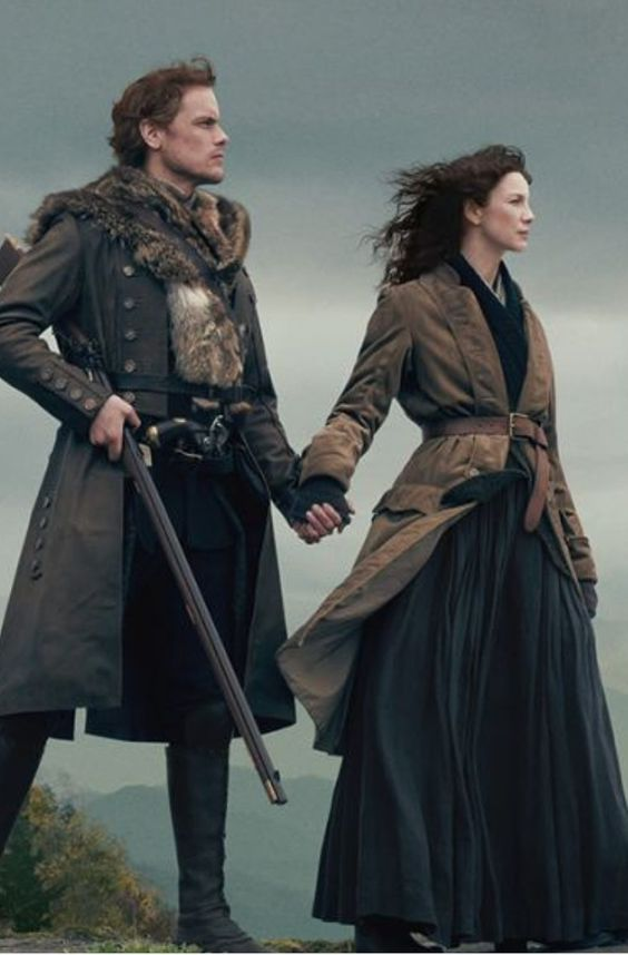 outlander jamie fraser and clair