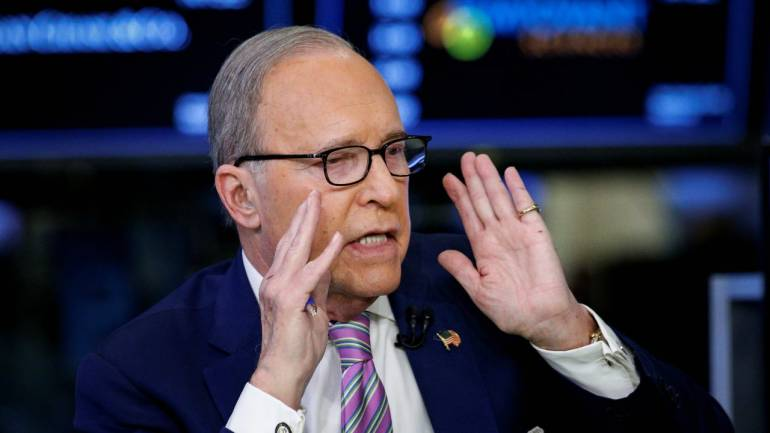 arry Kudlow White House Economic adviser
