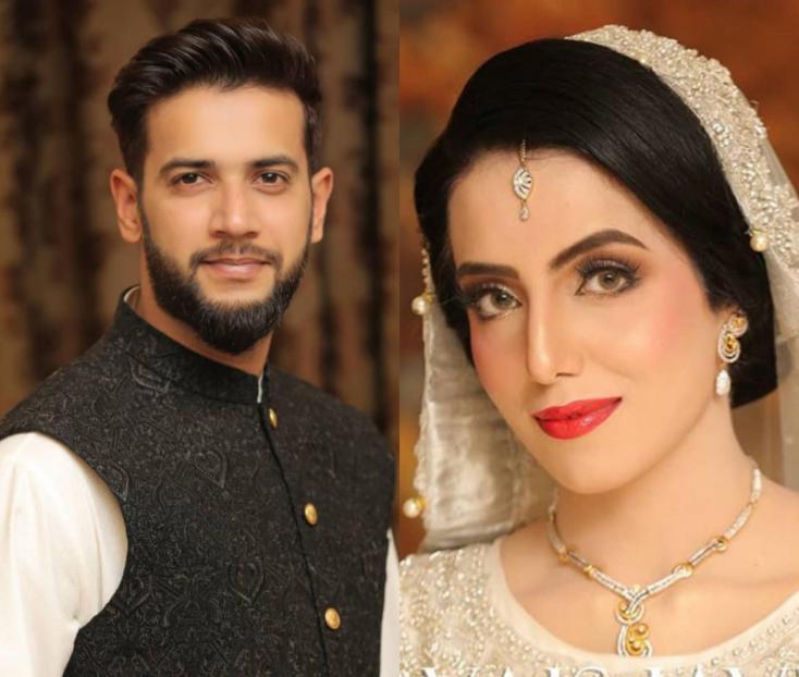 imad wasim weds Saniya nikkah