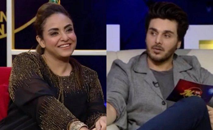 Nadia khan ahsan khan mahira khan