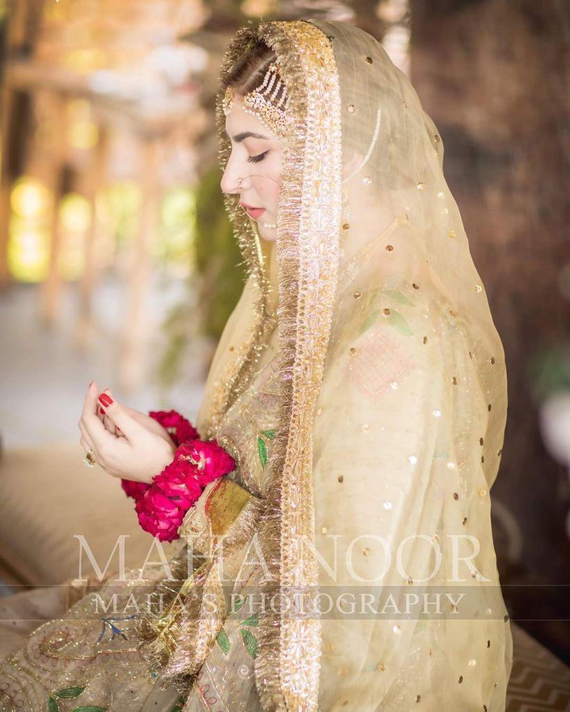 hamza abbasi Naimal khawar nikkah make up