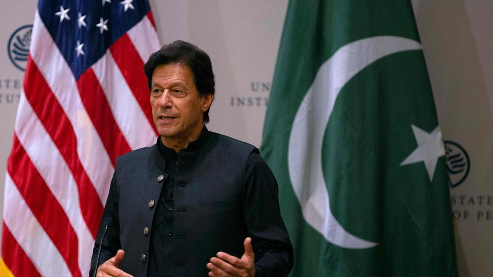 The prime minister Imran Khan