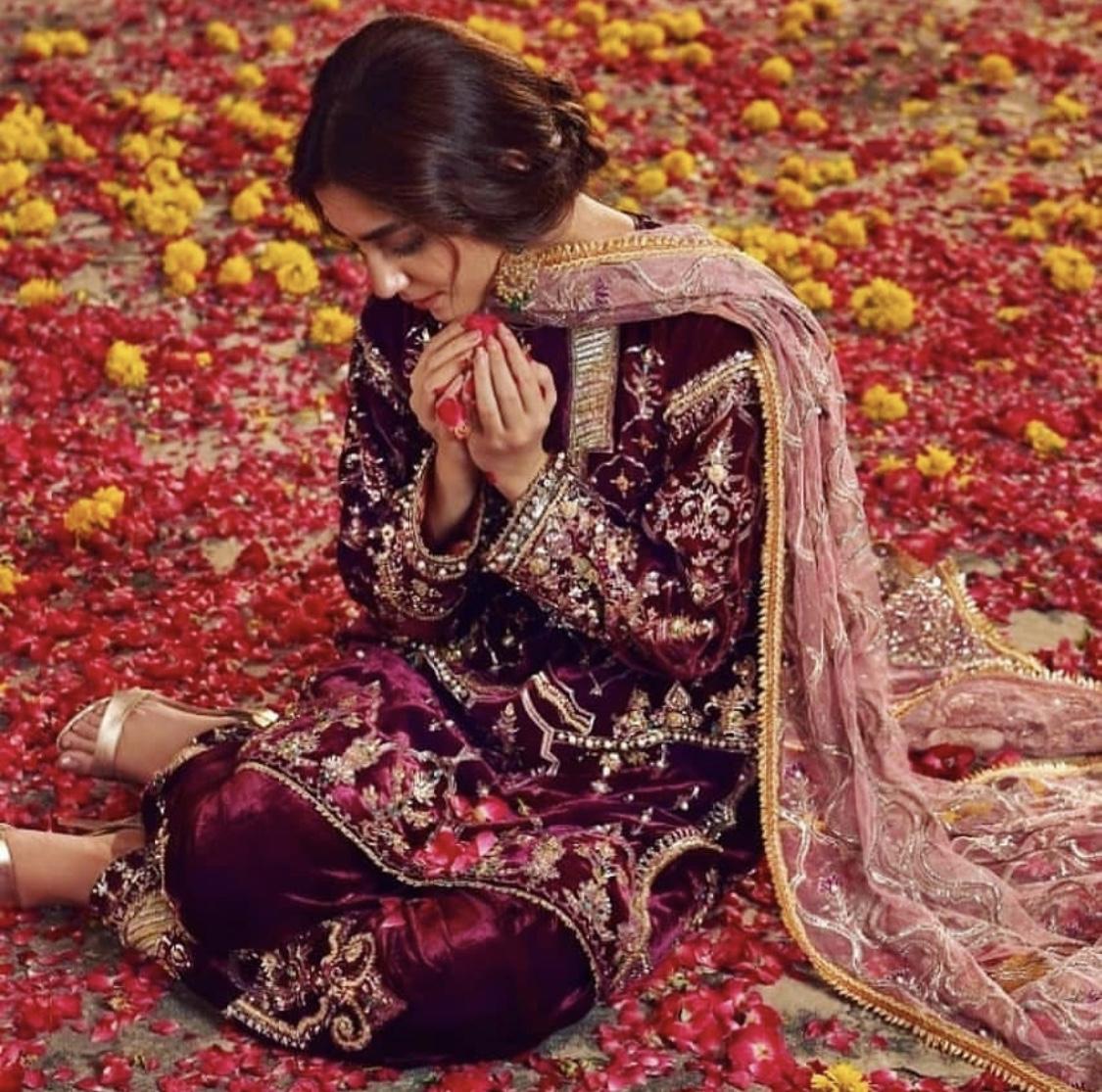 maya ali bridal outfit