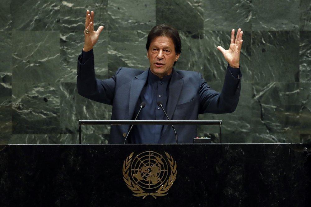 Prime minister Imran Khan kashmir