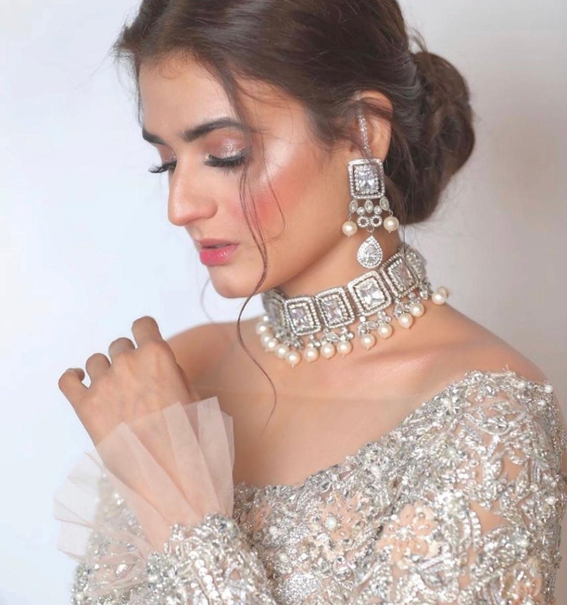 hira mani at loreal bridal week 2019