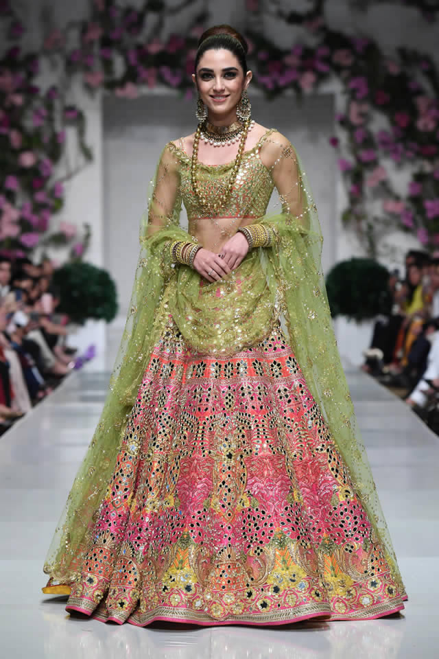 Maya Ali  Nomi Ansari Collection at FPW 2019