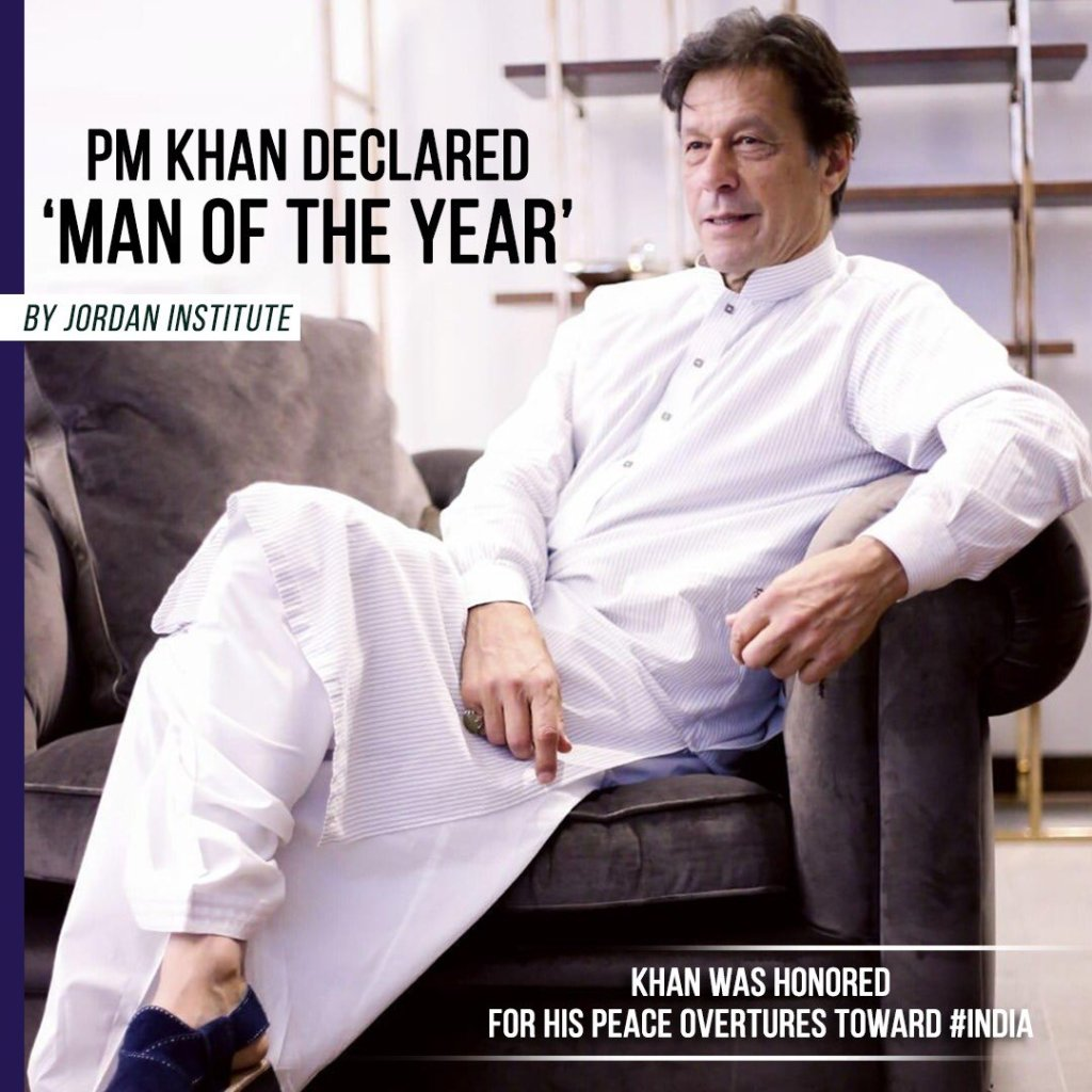 PM khan man of the year