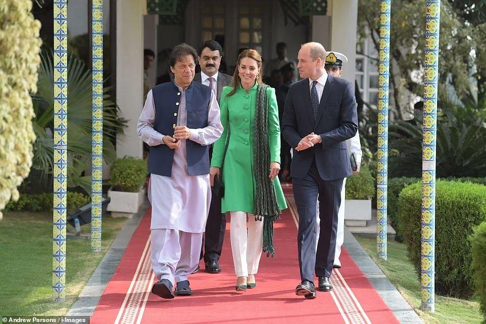 prince william meets PM imran khan