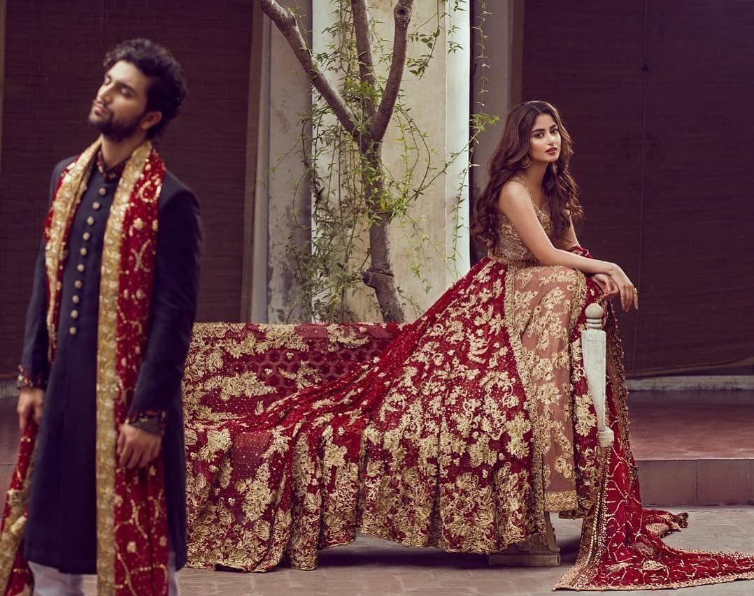 sajal ali ahad raza mir wedding