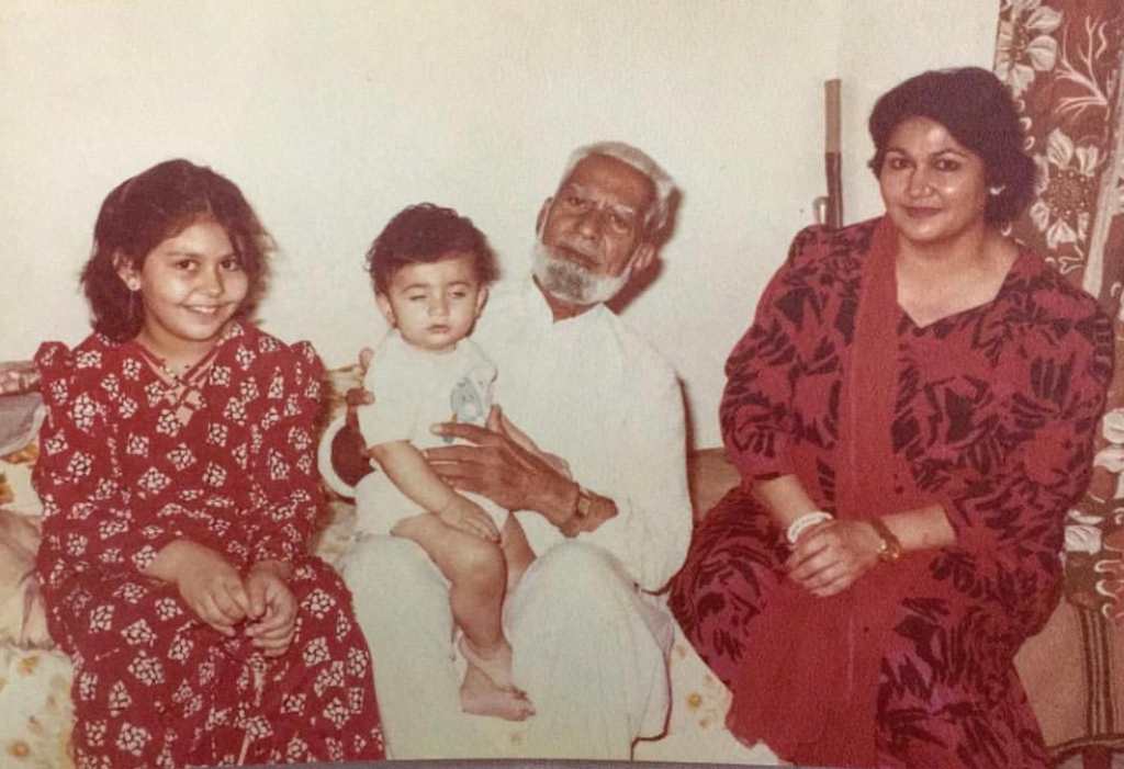 usman mukhtar family picture