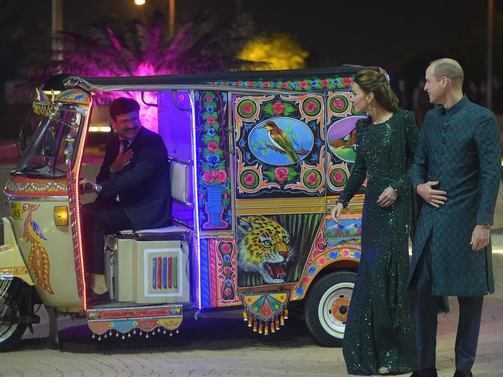 William and Kate in Pakistan  the odd onee