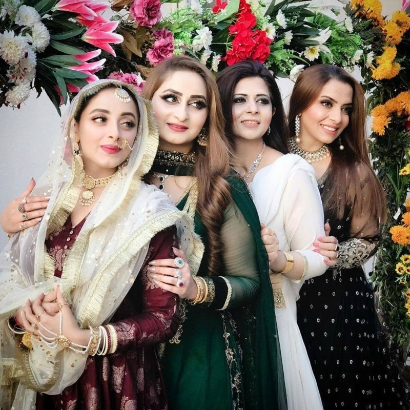 Sanam Chaudhry get hitched in US