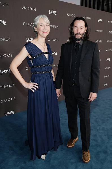 Keanu Reeves and Alexandra Grant attend the LACMA Art + Film Gala 2019.