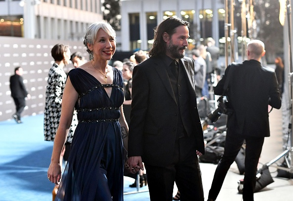 Keanu Reeves and Alexandra Grant  LACMA Art + Film Gala Presented By Gucci at LACMA