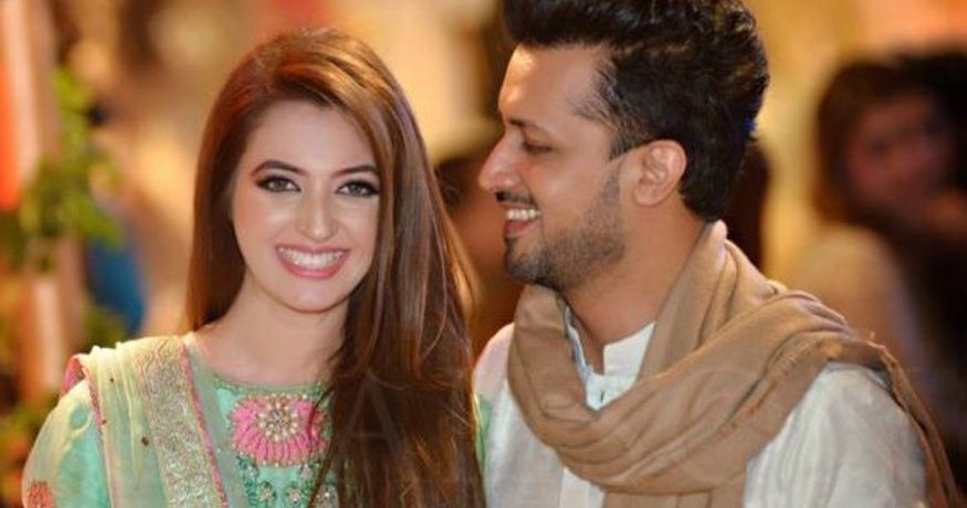 atif aslam child wife