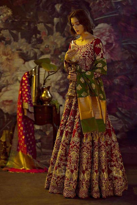 wedding lehnga bridal dress