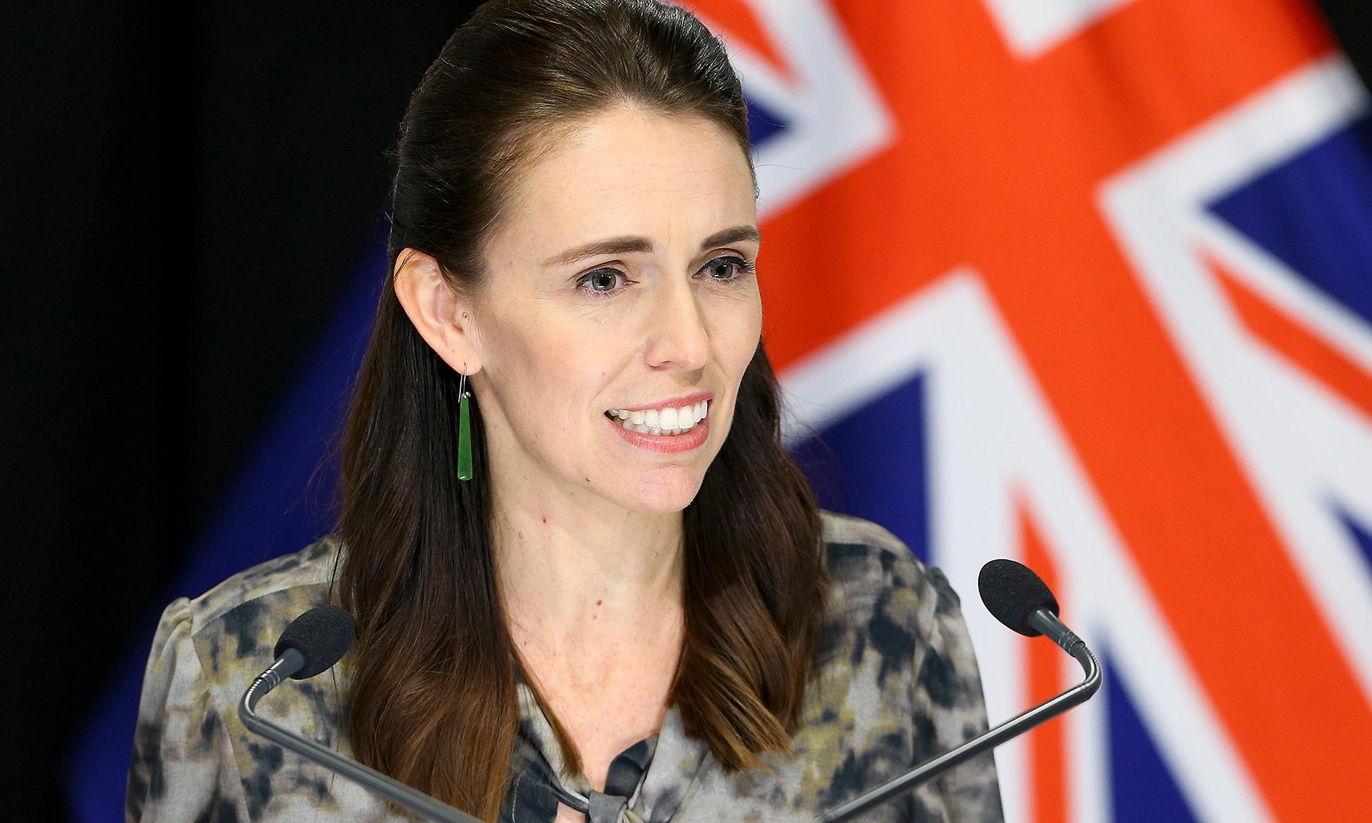 New Zealand jacinda ardern