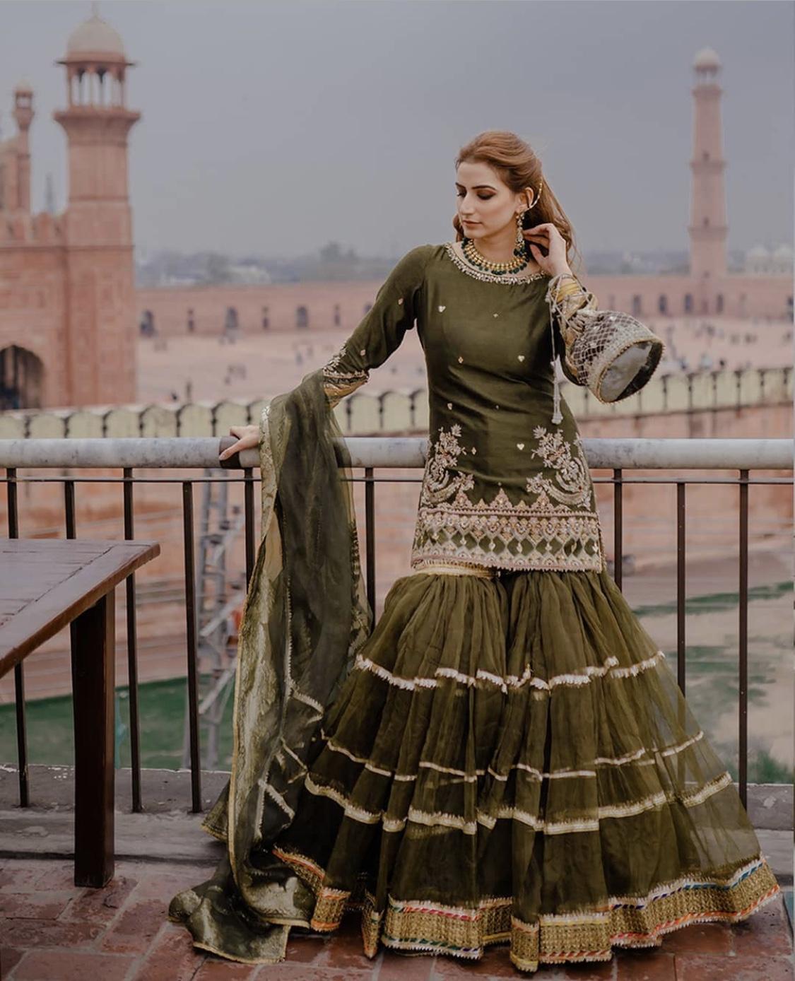 pakistani indian bridal dress
