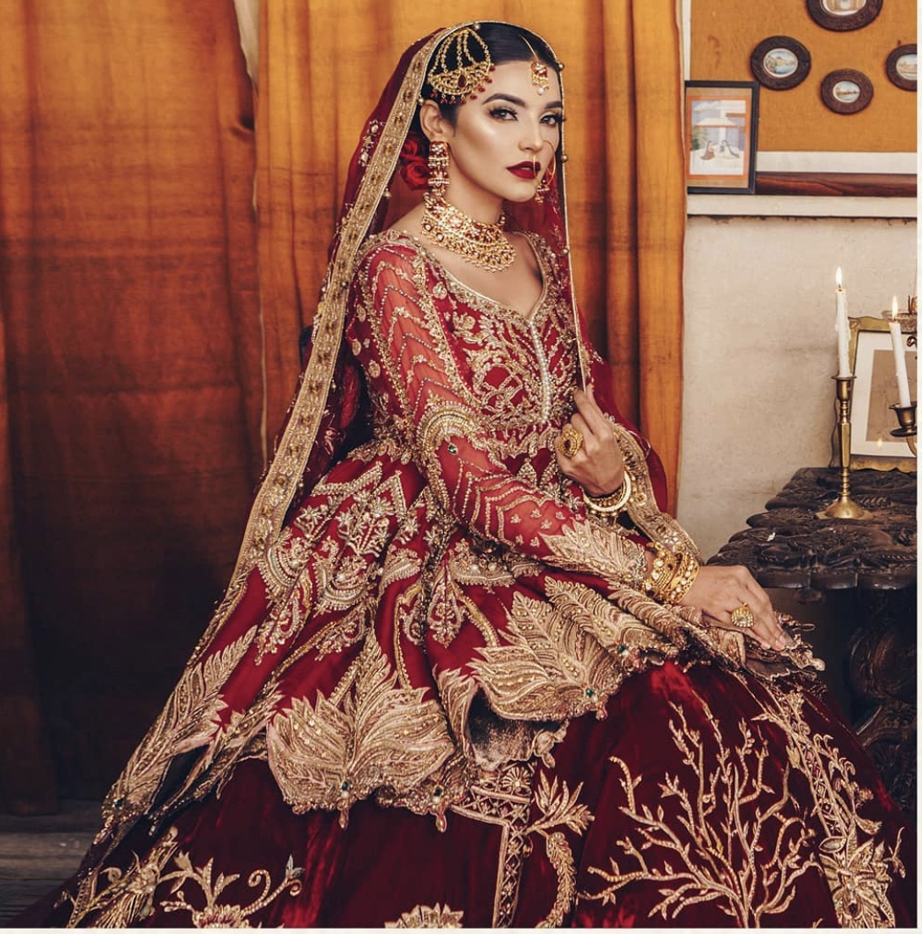 pakistani indian bridal wedding dress