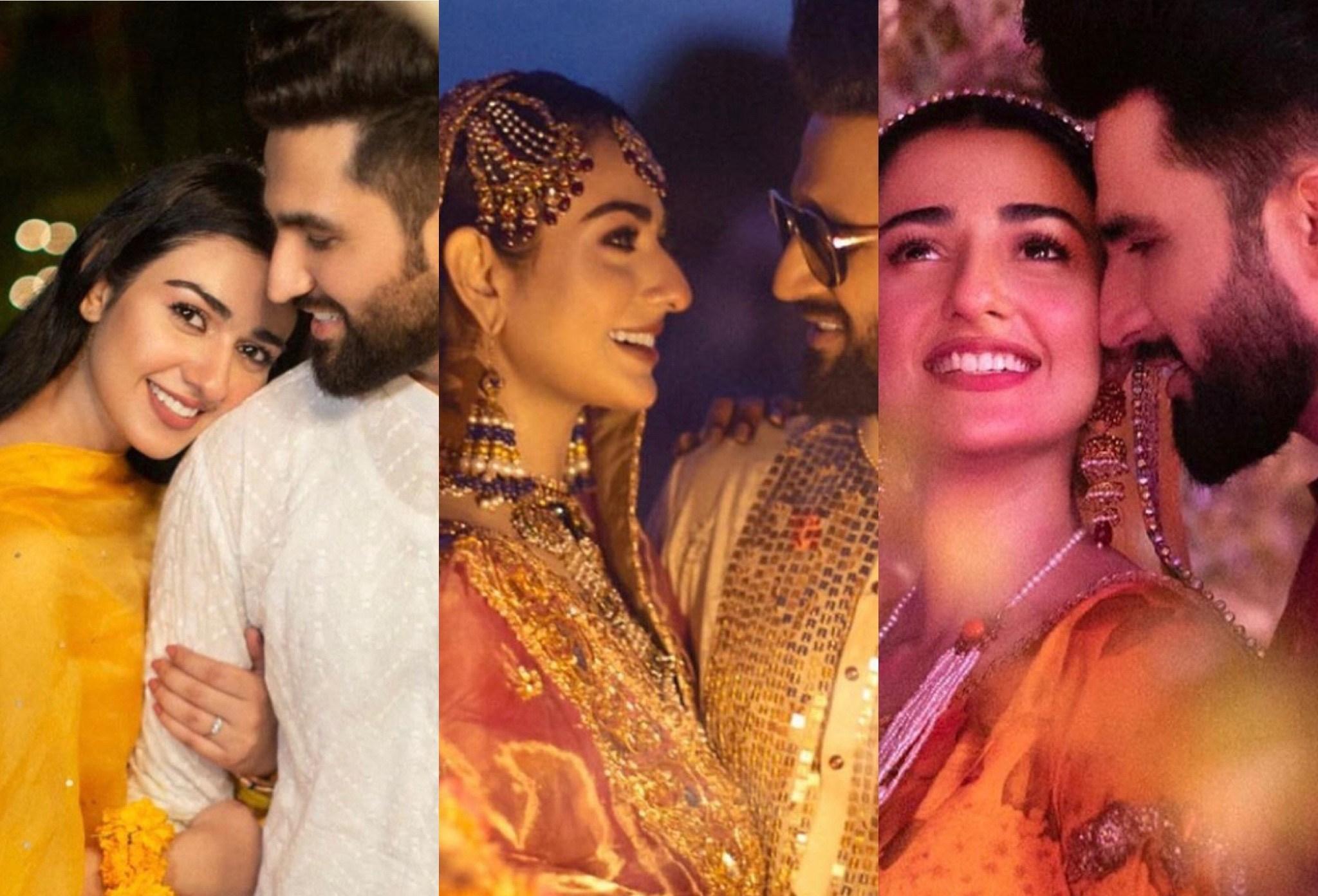 Sarah Khan and Falak Sabir Wedding Pictures