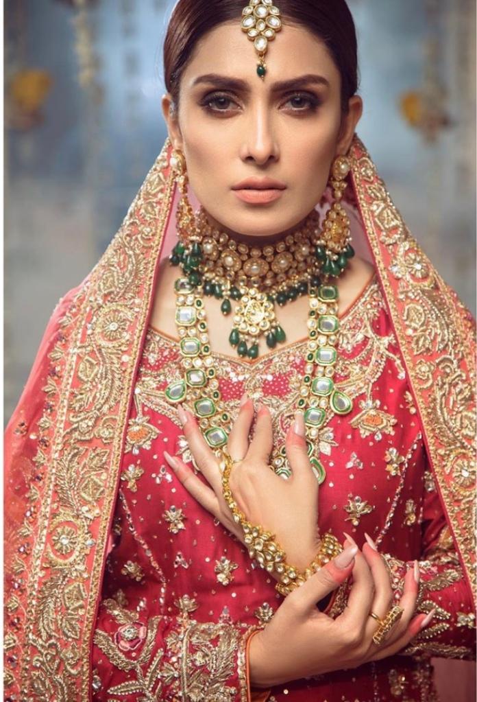 ayeza khan latest bridal picture