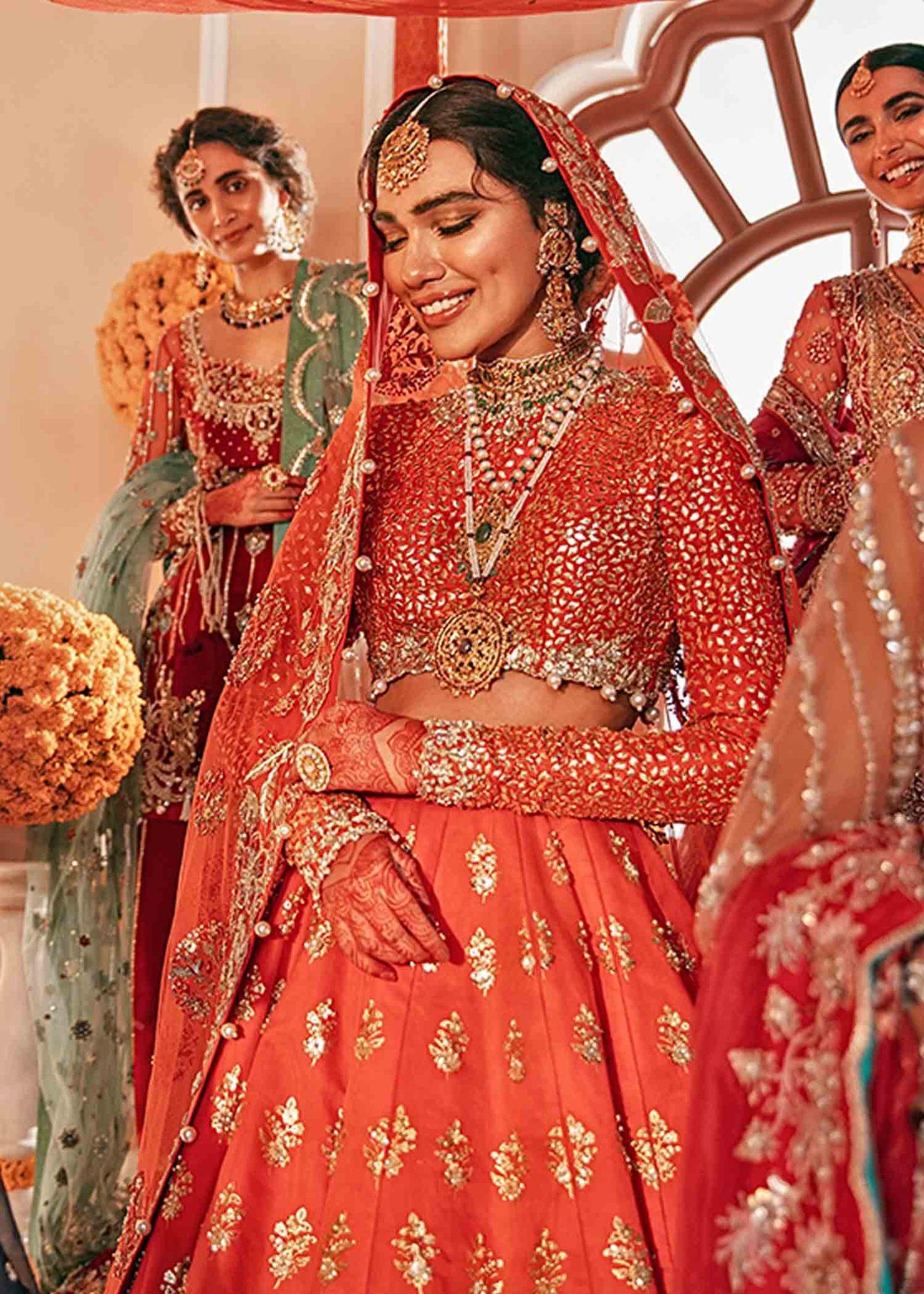 bridal lehenga bridal jewellery